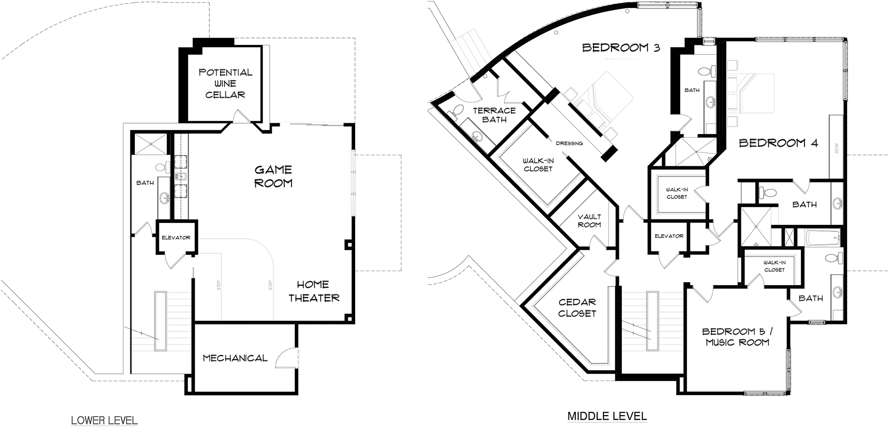 Floor Plans_Anchorage_Lower and Upper Level